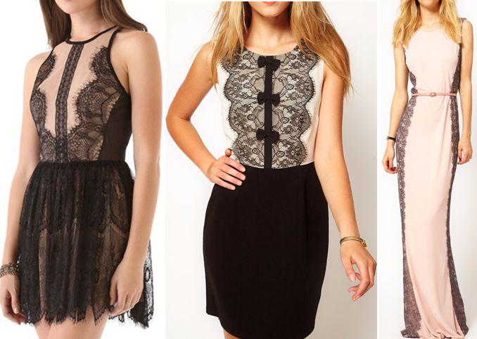 Ажурные платья (платья из кружев). | pattern-easy.com
