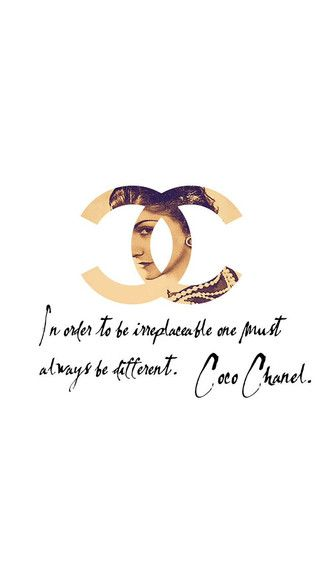 Coco Chanel IPhone 5C / 5S Wallpaper