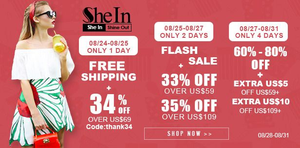 Il Bosco delle Fragole: New promotion on Shein
