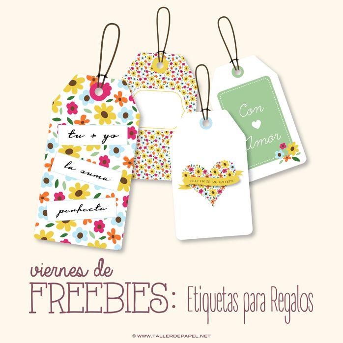 Viernes de Freebies : Descarga AQUÍ estas lindas Etiquetas para San Valentín. Descargalas GRATS!!
