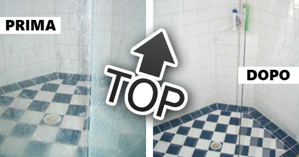"""Esiste una """"ricetta quasi magica"""" che vi permetterà di pulire in profondità le superfici del vostro bagno e che non vi deluderà, come i tanti prodotti chimici che probabilmente avrete provato..."""