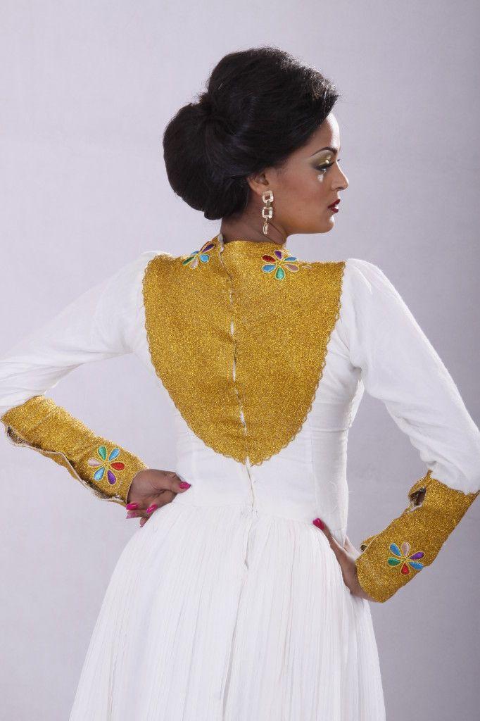 40 best habesha dresses images on pinterest african for Ethiopian wedding dress designer