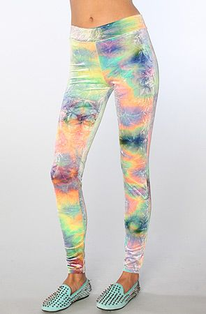 The Cosmic Tie Dye #leggings #karmaloop (Get 20% off of everything at karmaloop.com, plndr.com and brickharbor.com when you use Rep Code BIATCH at checkout :)