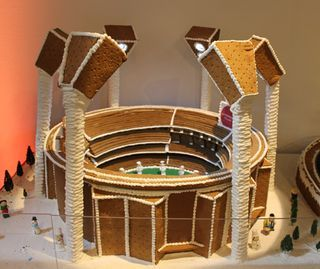 Iconic MCG (Melbourne Cricket Ground) Gingerbread