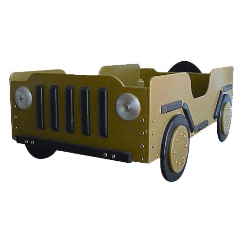 found it at wayfair military toddler car bed