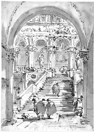 THE GIANTS' STAIRCASE The Scala dei Giganti (the Giants' Staircase) is located in the courtyard of the Doge's Palace in Venice and it connects the ground floor to the internal loggia on the first floor.