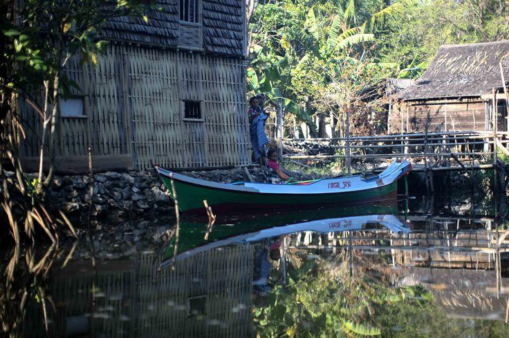 Penduduk Rammang-Rammang, maros