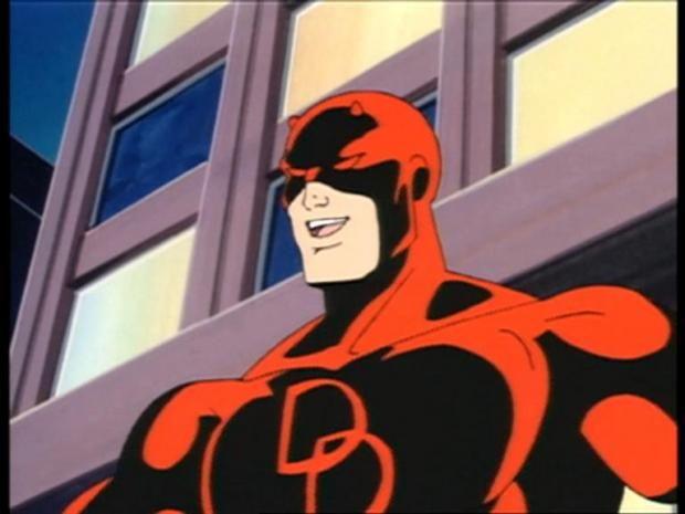Daredevil the blind superhero