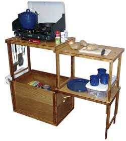 Chuck Box Extended Work Top Box  If you want to make your own buy the plans ebook or a printed book for about $30  or you can buy them already made, cost up to $370