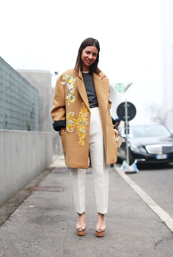 Natasha Goldenberg mixes her hues so well. Sophisticated lady!
