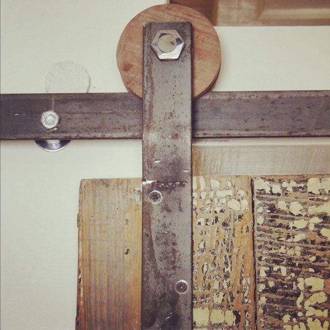 Door track hardware