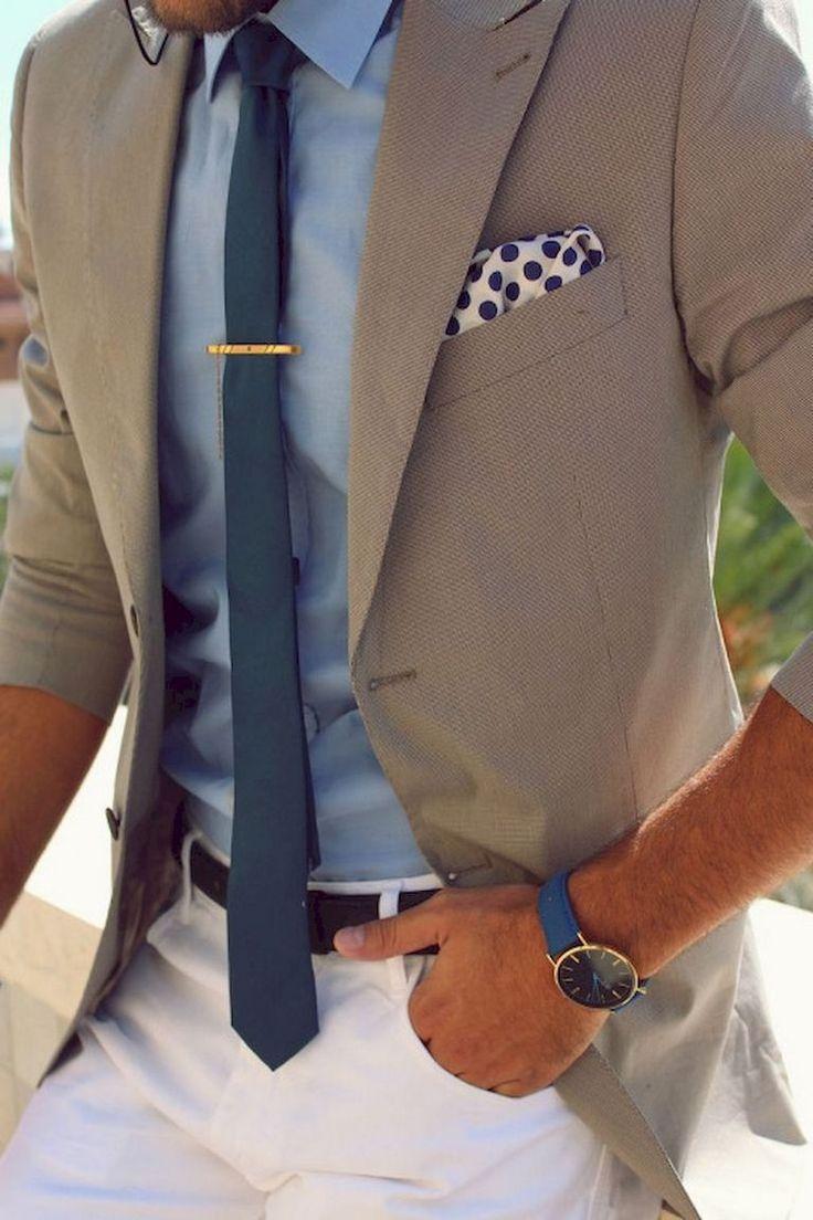 Modern men's business fashion style (26)