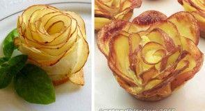 Bramborové růže - potato roses