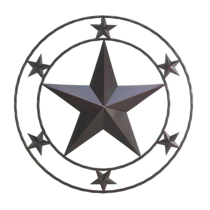 Texas Star Wall Decor