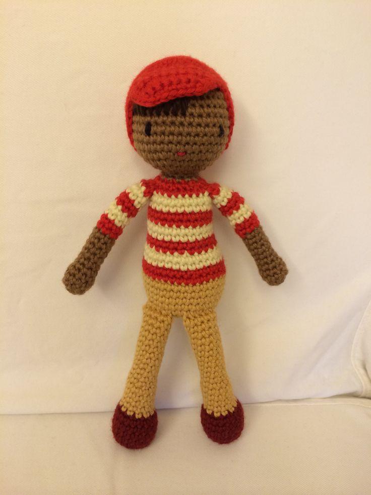 Amigurumi Boy Doll Pattern : Pin by Andrea Cor on Amigurumi dolls Pinterest