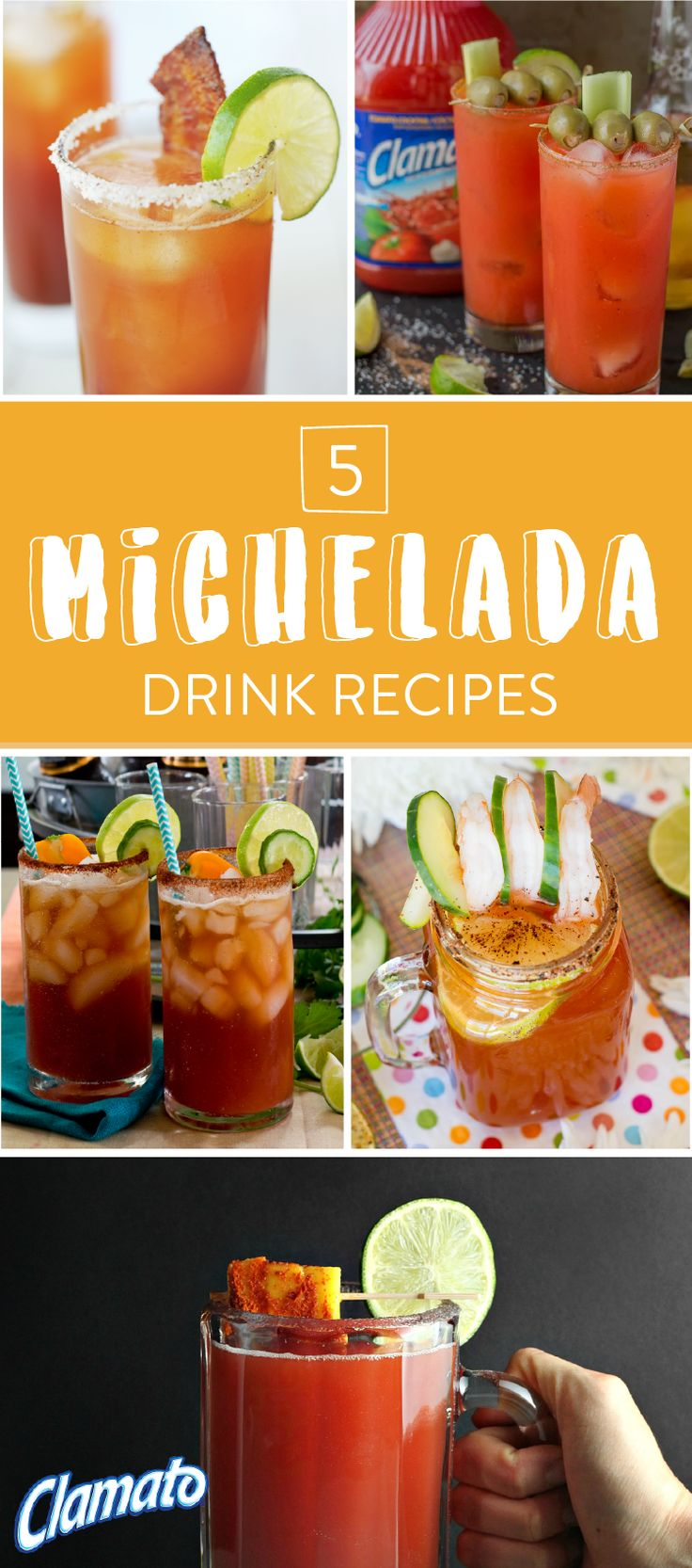 If you're anything like us, sweet and savory is your favorite flavor combination. So, take a sip of this Mexican Michelada recipe with Spicy Mangos to enjoy a delicious summer cocktail. Made with Clamato®, Mexican beer, hot sauce, Worcestershire, fresh mangos, cayenne pepper, and ice, this fruity drink has a bit of kick and can be served all summer long. Pick up all the items you need at your local Albertsons, Safeway, Pavilions, Tom Thumb, or Vons store.