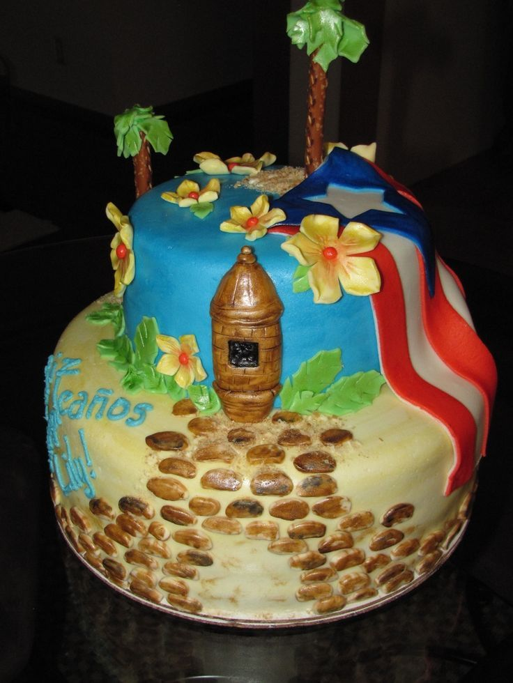 puerto rican birthday ideas | 3D Sculptured Cakes Cake Creations By Kym