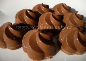 plnene čokoládové pralinky