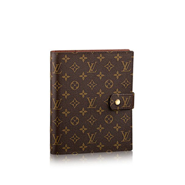 Large Ring Agenda Cover Monogram Canvas - Agendas and Covers | LOUIS VUITTON