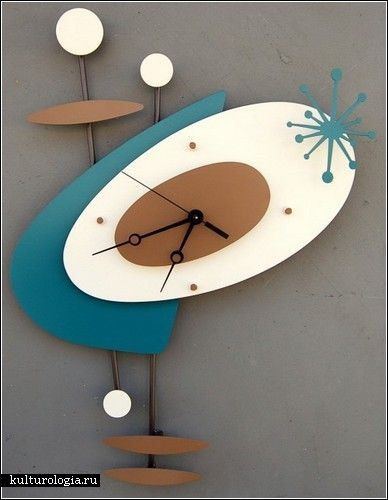 Modern Retro....Clock Love.