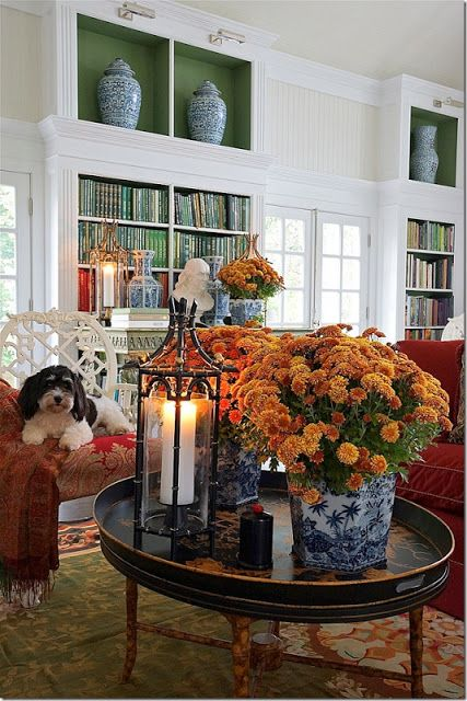 Oh you lucky dog! Interior by Carolyne Roehm: