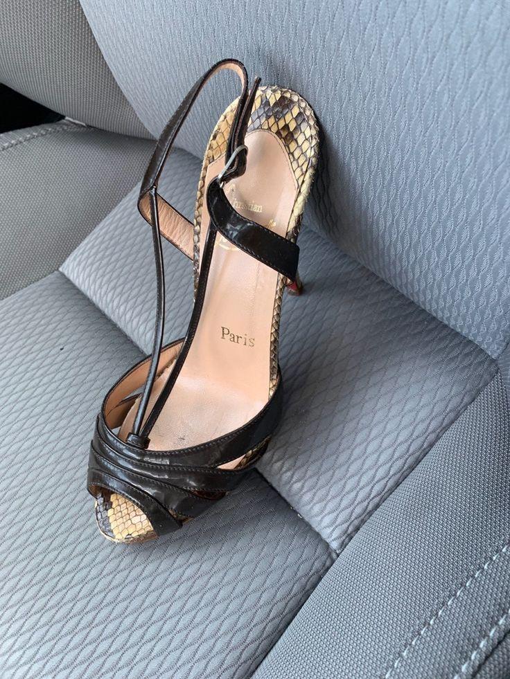 CHRISTIAN LOUBOUTIN Follies Strass 70 nude mesh crystal gold bridal heel EU34 For Sale at 1stdibs