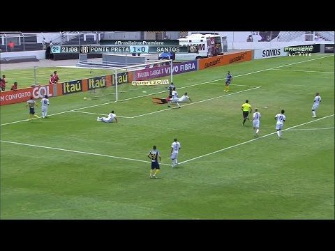 Ponte Preta vs Santos FC - http://www.footballreplay.net/football/2016/11/06/ponte-preta-vs-santos-fc/