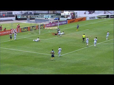 Ponte Preta vs Santos FC - http://www.footballreplay.net/football/2016/11/06/ponte-preta-vs-santos-fc/