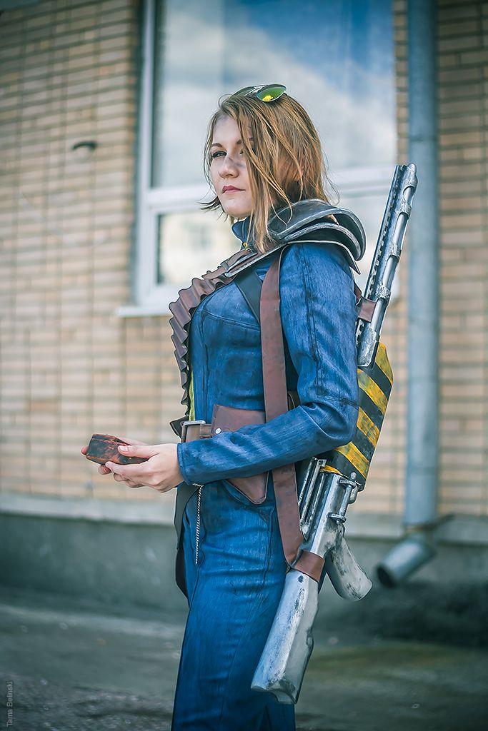 Fallout cosplay - Vault Dweller by MonoAbel.deviantart.com on @DeviantArt