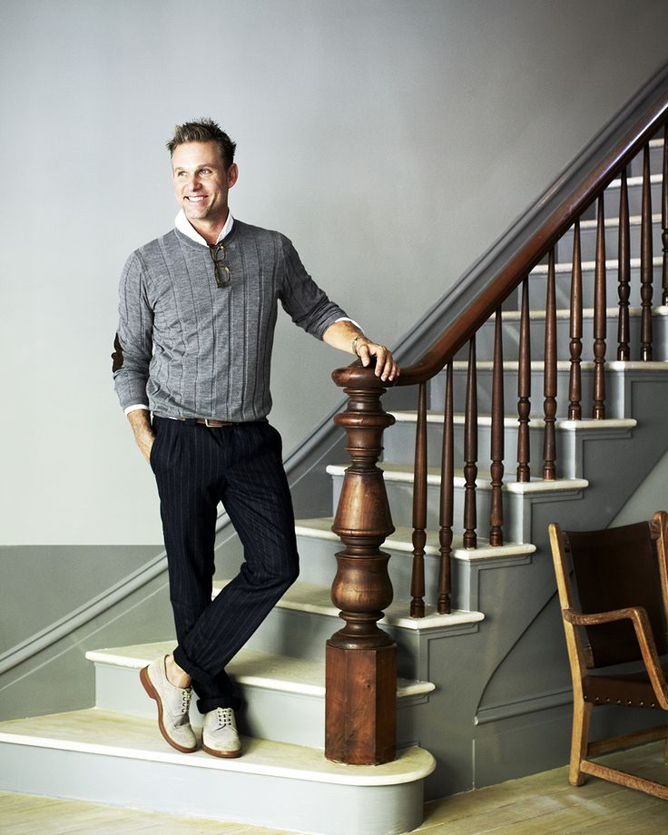Love the staircase! Jeffrey Alan Marks at the New York town house. #JAM #BRUNELLOCUCINELLI