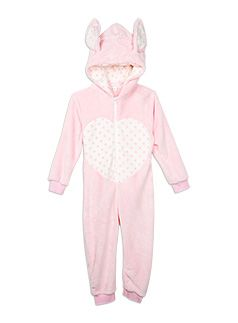 Nightwear Bunny Fluffy All-in-One Orchid Pink