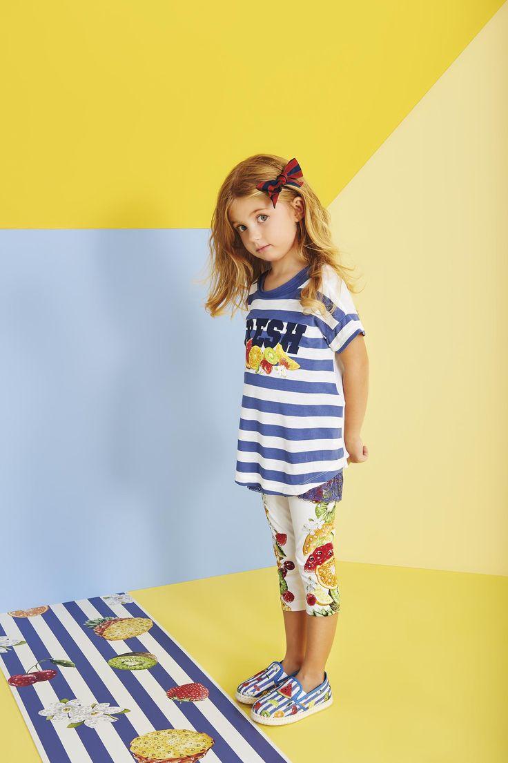 Childrenswear Lilica Ripilica Spring-Summer  MONNALISA Spring Summer 2016 #Monnalisa #fashion #kids #childrenswear  #newcollection #girls