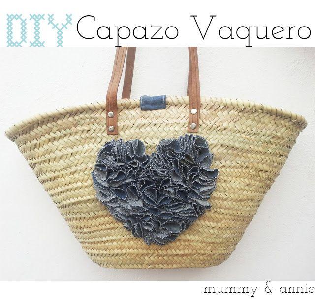 Mummy and Annie DIY: DIY CAPAZO VAQUERO