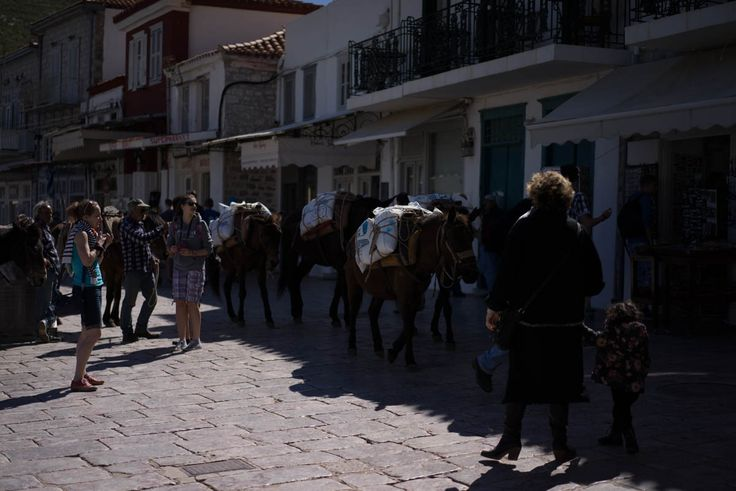 Hydra, donkeys used for transport