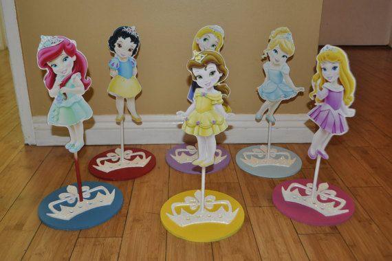 7 Disney Princess Centerpiece Frozen Elsa Toddler by SOUTHFLOWER