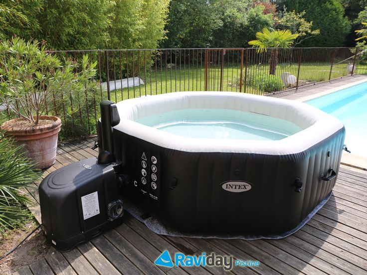 1000 id es sur le th me piscines intex sur pinterest for Pompe pour spa gonflable