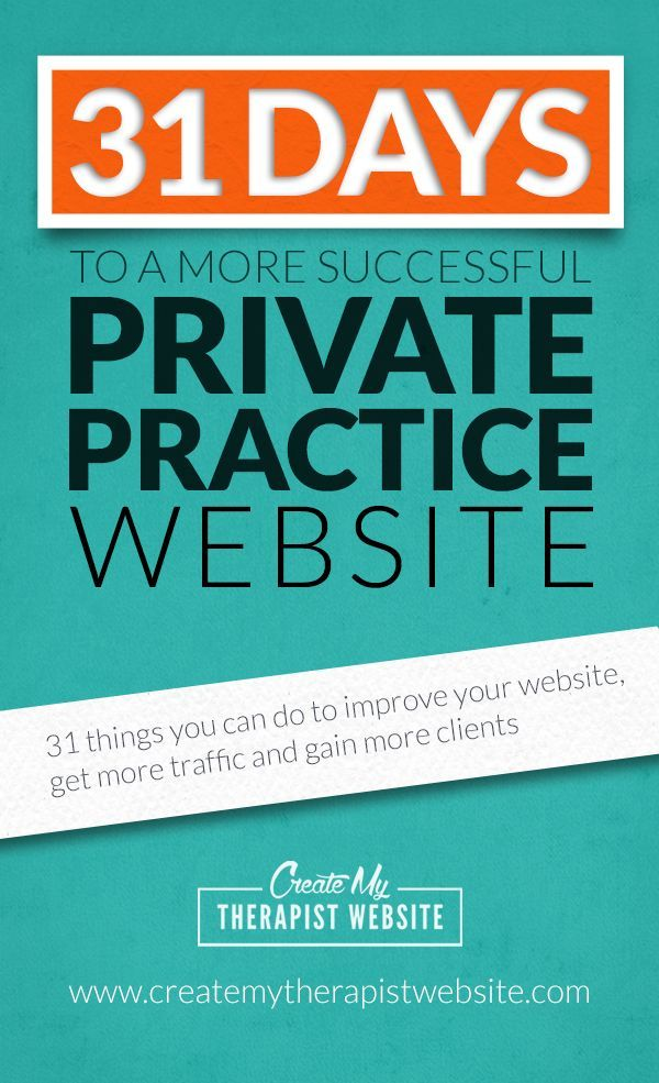 126 best marketing a private practice images on pinterest free ebook 31 days to a more successful private practice website fandeluxe Choice Image