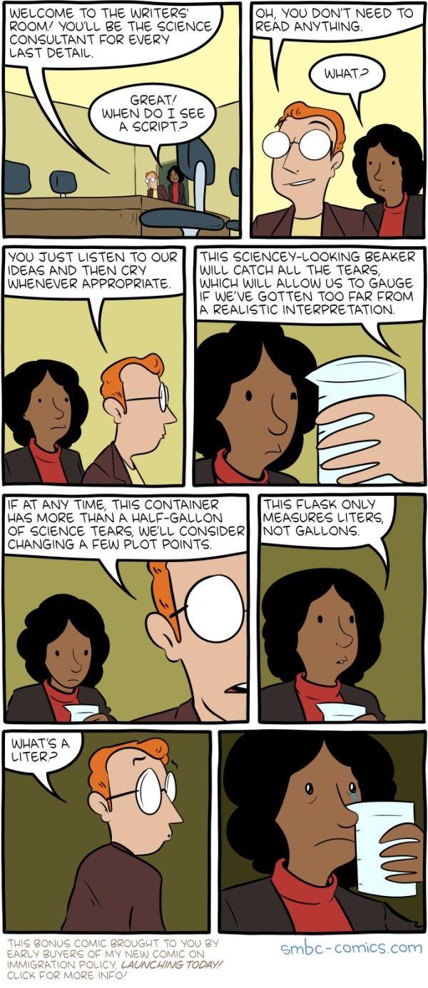 Science Advice Comic Smbc Comics Comics Science Quotes