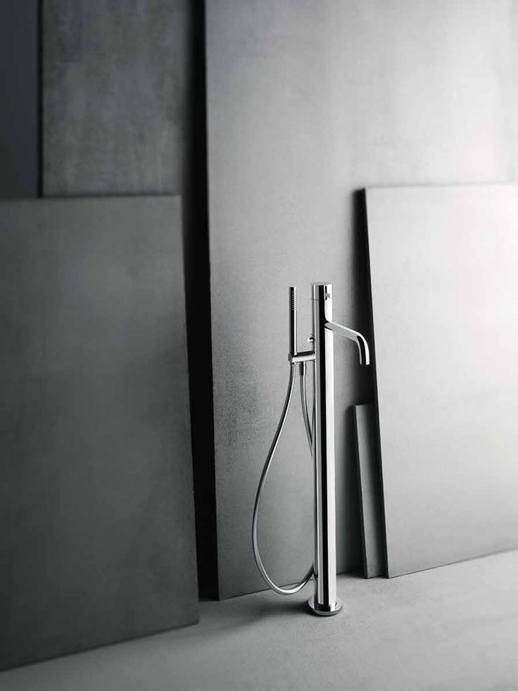 Fantini is best known for bringing together craftsmanship and cutting edge technology, as well as focusing on top quality design and constant material research. | A036A/A580B Aboutwater bathtub fittings, Naoto Fukusawa, 2015  Aboutwater comes from a partnership between two leading interior design brands: Boffi and Fantini. What's more, Aboutwater results from a partnership between two world-class designers: Naoto Fukusawa and Piero Lissoni.