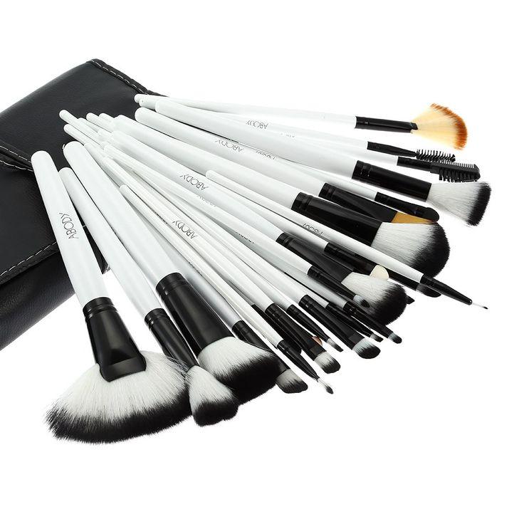 High Quality 36Pcs Wood Makeup Brushes Kit Professional Cosmetic Make Up Set…