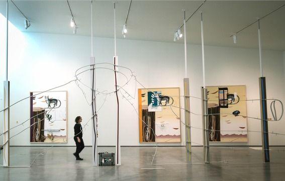 Helen Marten at Hepworth Sculpture Prize show, 20 October 2016 - 19 February 2017