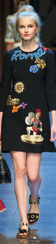 Dolce & Gabbana, Spring 2016~ RTW Vogue.Com/