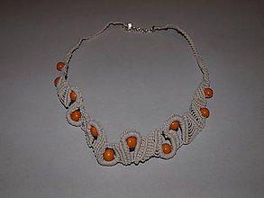 Náhrdelníky - náhrdelník s korálkami - 6236803_