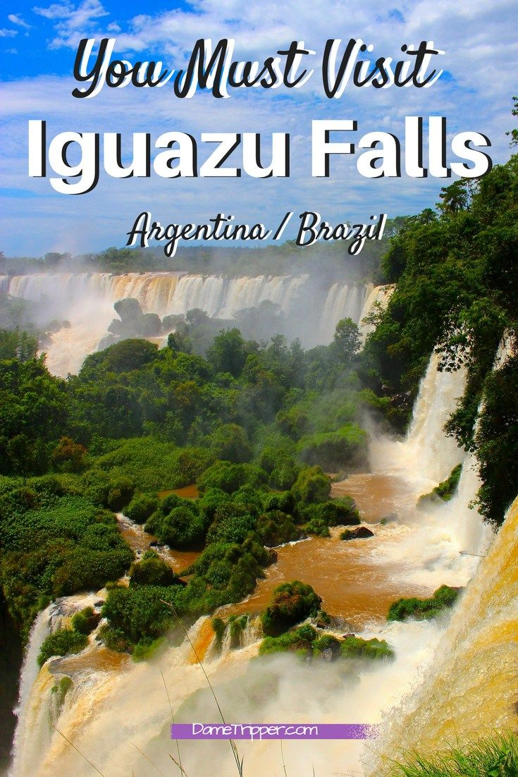 The Iguazu Waterfalls are not located in a convenient spot but they are a natural wonder of the world. Check out these photos and details to get inspired!