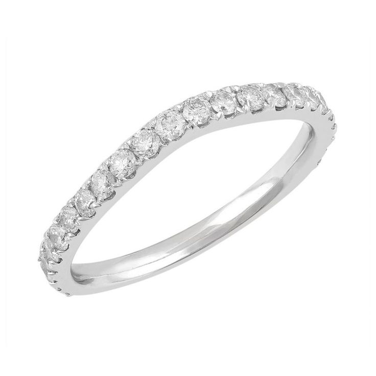 Love by Michelle 18ct White Gold 0.49ct Diamond Ring. Available in stores or online - 9B82000