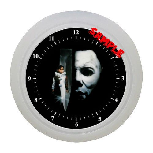 Halloween Wall Clock Michael Myers Wall Clock Horror Fan Horror Movies #Unbranded