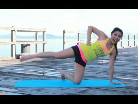 Cassey Ho from Blogilates - Long lean legs workout - it hurt.. in a good way.  Part 2 of my morning workout on 12/13/12