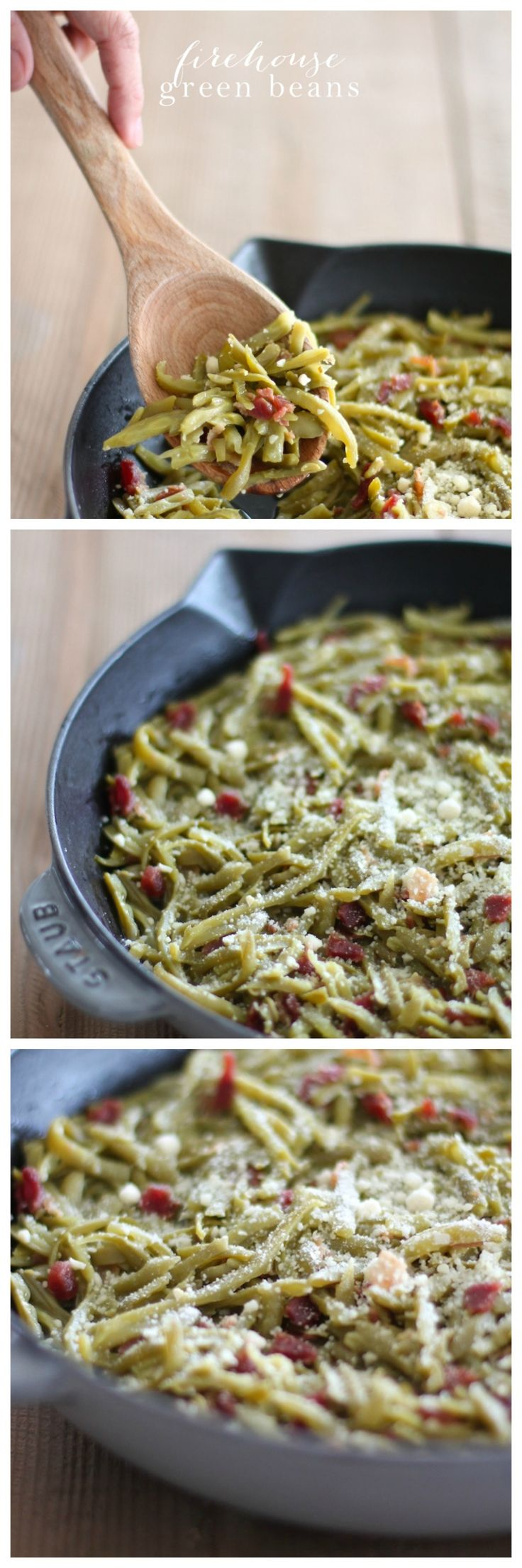 firehouse green beans make for an easy and delicious addition to your holiday menu