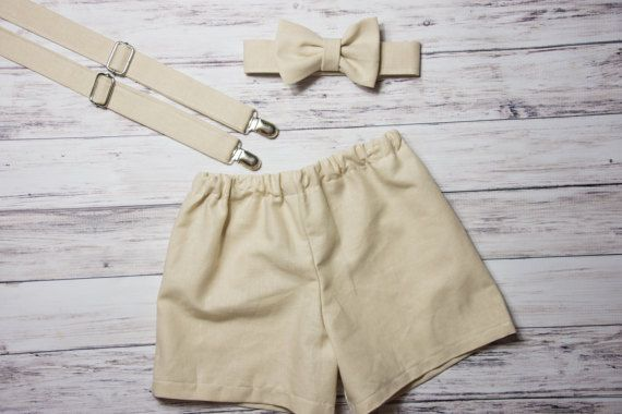 Baby Boys khaki shorts Baby Boys Easter outfit khaki toddler
