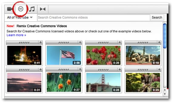 YouTube and Creative Commons: raising the bar on user creativity. The video giant has a creative commons library that makes it easy to license and use creative works. Wat to go YouTube! (Source: YouTube) #creative commons #creativeworks #library #video #YouTube
